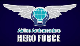 Airline Ambassadors Hero Force