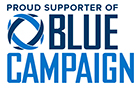Proud supporter of the Blue Campaign